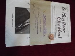 """Journal """" Le Moniteur Théatral """" Du 25.07.1931 AVEC SA BANDE D'ENVOI - Postal Stamped Stationery"""