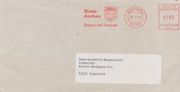 GERMANIA - AACHEN  -  KREIS  -  BLASONE  -  LEONE  LION - Enveloppes