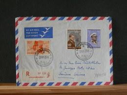 79/785A    LETTRE CONGO POUR LA BELG. 1963 RECOMM. - Repubblica Del Congo (1960-64)