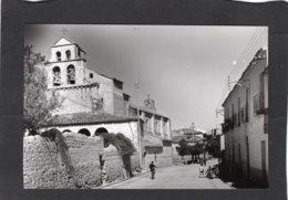 85097    Spagna,  San Esteban De Gomaz,  Soria,  Calle Real E Iglesia De San Esteban,  NV - Soria