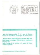 CHATEAU = 02 LA FERTE MILON 1973 = FLAMME FDC = SECAP Illustrée 'FETE MEDIEVALE' - Marcophilie (Lettres)