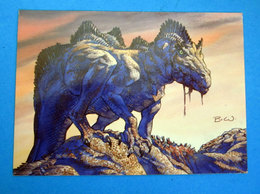 BERNIE WRIGHTSON 1994 CARD N 84 - Trading Cards