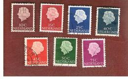 OLANDA (NETHERLANDS) -  SG 775.786  -   1953 QUEEN JULIANA  -  USED (°) - Periodo 1949 – 1980 (Juliana)