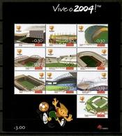 Portugal 2003 / Football Soccer UEFA Euro 2004 Stadiums MNH Futbol Eurocopa Estadios / Kf34  41-20 - Europei Di Calcio (UEFA)