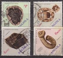 Minéraux Et Fossiles. - ANGOLA - Gondwanadium, Diamant, Moscovite, Nostoceras - 1970 - Angola
