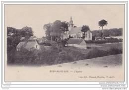 62) Huby Saint Leu (Pas De Calais)  L ' Eglise  - (éditeur Herbay à Hesdin) - France