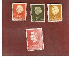 OLANDA (NETHERLANDS) -  SG 778.787  -   1954 QUEEN JULIANA  -  USED (°) - Periodo 1949 – 1980 (Juliana)