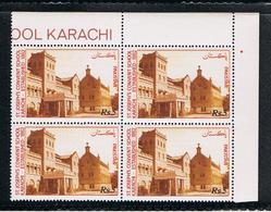 PAKISTAN:  1991  CONVENTO  DI  S. GIUSEPPE  -  5  Rs. POLICROMO  BL. 4  N. - Pakistan