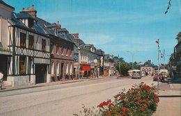 BOSC-LE-HARD (76). Rue Avec Commerces, Banque Crédit Agricole. Voitures, Fourgon Citroën - France