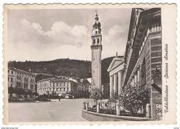 VALDOBBIADENE:  STAZIONE  CLIMATICA  -  CENTRO  -  FOTO  OPACA  -  FG - Treviso