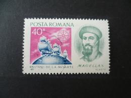 TIMBRE MAGELLAN  BATEAU  OBLITERE - Ships