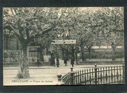 CPA - NEUSTADT - Foyer Du Soldat, Animé - Casernes