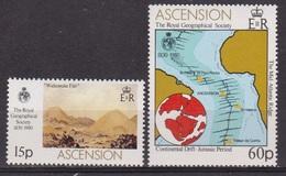 Royal Géographical Society - ASCENSION - Foire Aux Chapeaux - Dorsale De L'Atlantique Sud - N° 270-271 ** - 1980 - Ascension (Ile De L')