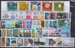 Iceland    .   Karte Mit Marken        .     **     .    Postfrisch - 1944-... Republique