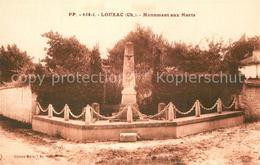 13493653 Louzac-Saint-Andre Monument Aux Morts Kriegerdenkmal Louzac-Saint-Andre - Non Classés