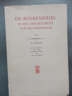 De Boerenkrijg In Het Departement Van De Nedermaas - Books, Magazines, Comics