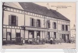 77) Brou Sur Chantereine.- (Seine  Et  Marne). Maison Rubin   - (belle Animation - Café - épicerie) - Non Classés