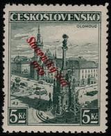 ~~~ Slovakia Slovaquie 1939 - Slovensky Stat Overprint - Mi. 21  ** MNH -  Neuf Sans Charniere -  CV  40 Euro [05] ~~~ - Slowakije