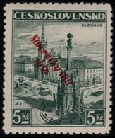 ~~~ Slovakia Slovaquie 1939 - Slovensky Stat Overprint - Mi. 21  ** MNH -  Neuf Sans Charniere -  CV  40 Euro [06] ~~~ - Slowakije