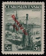~~~ Slovakia Slovaquie 1939 - Slovensky Stat Overprint - Mi. 21  ** MNH -  Neuf Sans Charniere -  CV  40 Euro [07] ~~~ - Slowakije