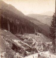 AK-0281/ Partie Bei Strengen Tirol  Stereofoto V Alois Beer ~ 1895 - Stereoscopic