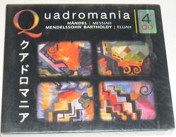 Coffret 4 CD : HANDEL Et MENDELSSOHN - Collection QUADROMANIA - Classique