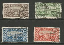 Schleswig - 1920 Plebiscite Issue Used - Germany