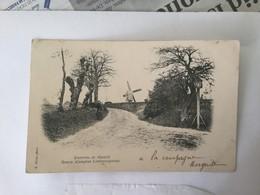 GENK MET MOLEN 1903  ENVIRONS DE HASSELT  GENCK   (CAMPINE LIMBOURGEOISE ) - Genk