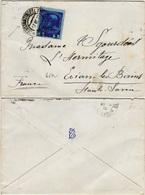 LEVANT Autrichien 48 (o) Lettre Brief Cover CONSTANTINOPLE Turquie -> EVIAN LES BAINS France 1910 (CV 100 €) - Eastern Austria
