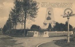 CPA - Belgique - Waterloo - Monument Des Belges - Waterloo