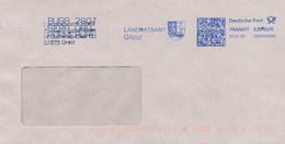 GERMANIA - EMA - GREIZ - BLASONE  -  LEONE LION   -  CICONIA  CICOGNA - Buste