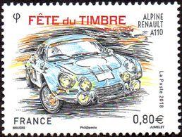 France Philatélie N° 5204 - Fête Du Timbre 2018, Renault Alpine - Tag Der Briefmarke