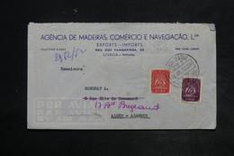 PORTUGAL - Enveloppe Commerciale De Lisbonne Pour Alger En 1952 , Affranchissement Plaisant - L 26425 - 1910-... Republic