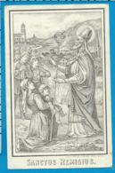 Holycard    St. Remigius   Haacht   1913 - Santini