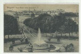 BERGAMO - VIALE ROMA DALLA STAZIONE F.S 1924  VIAGGIATA  FP - Bergamo