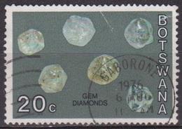 Minéraux - Pierres Précieuses - BOTSWANA - Gemme - Diamant - N° 274 - 1974 - Botswana (1966-...)