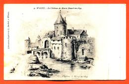 "CPA 52 Wassy "" Le Chateau De Marie Stuart En 1549 "" - Wassy"