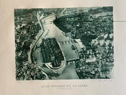 Nantes / Ile Feydeau Et La Loire En Voie De Destruction / Cliché Aéro-Club 1926 / éd Lefevre-Utile - Otros