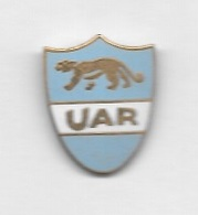 Pin's  Pays, Sport  RUGBY  FEDERATION  RUGBY  U A R  ARGENTINE  Avec  Animal  PUMA - Rugby