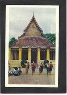 CPSM Laos Asie écrite Indochine - Laos