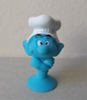 - SCHTROUMPFS - Le Schtroumpf Cuistot - Micro Popz. Super U - Peyo - - Smurfs