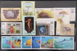 ILE MAURICE - MAURITIUS - LOT N°7 TIMBRES DE MAURICE - Mauritius (1968-...)