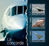 Guinea 2014  Airplane  Concorde - Guinée (1958-...)