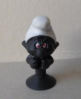 - SCHTROUMPFS - Le Schtroumpf Noir - Micro Popz. Super U - Peyo - - Smurfs