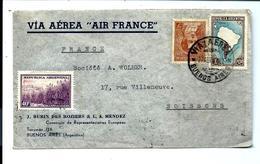 LETTRE 1922 - ARGENTINA VIA AEREA B.A. To FRANCE - Argentina
