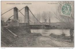 Q15-  40) PEYREHORADE (LANDES) LE PONT SUSPENDU - Peyrehorade