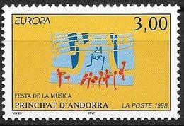 Andorre Français 1998 N° 504 Neuf Europa Festivals - Französisch Andorra