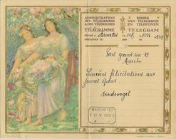 TELEGRAMME DE BELGIQUE 1929 C. MONTALD 27 VOIR SCAN POUR ETAT - Non Classificati