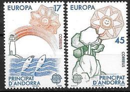 Andorre Espagnol 1986 N°178/179 Neufs Europa Nature - Spanisch Andorra