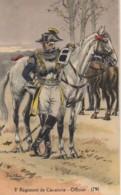 Militaria 8e Régiment De Cavalerie - Officier 1791 - Uniformen